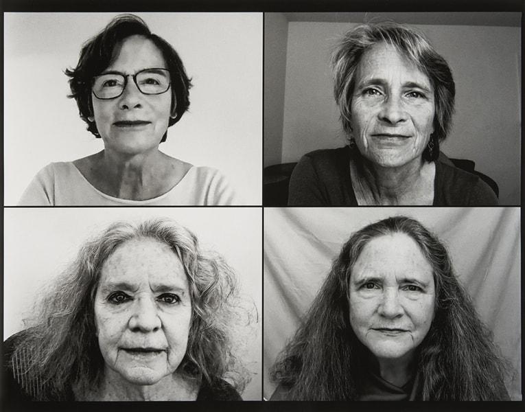 The Brown Sisters [Las hermanas Brown], 2020 Plata en gelatina