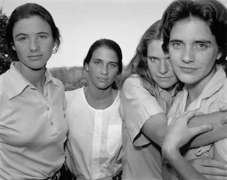 The Brown Sisters [Las hermanas Brown], 1980 Plata en gelatina