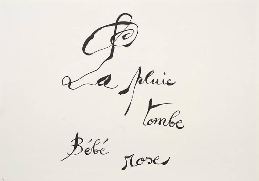 Joan Miró Le lézard aux plumes d'or [The Lizard with Golden Feathers], 1971 Poem and lithographs by Joan Miró. Louis Broder, Paris, 1971 Poem and 32 lithographs by Joan Miró Case: 38.70 x 53 x 9.20 cm Book (closed): 36.80 x 51 x 4.80 cm Suites: 36.80 x 51 x 2.40 cm Joan Miró Foundation, Barcelona (FJM 6881) FotoGasull © Miró Estate 2021