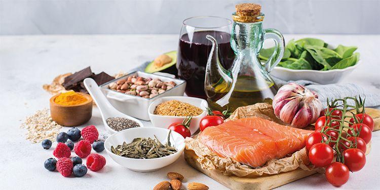 Dieta saludable para una buena salud física y mental