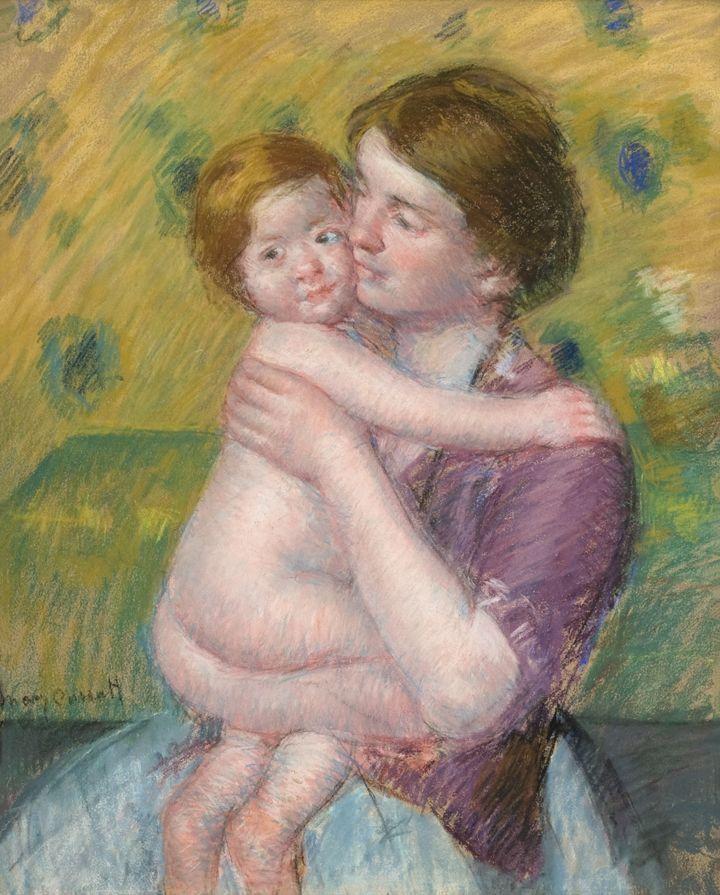 Mary Cassatt Mother and Child, 1900-1914 [Madre e hijo]