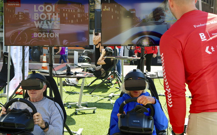 «Look both ways», Fundación MAPFRE se suma al reto de Boston
