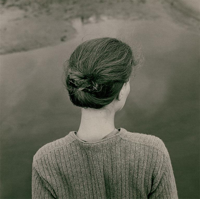 Emmet Gowin Edith. Chincoteague, Virginia, 1967 © Emmet Gowin, cortesía Pace/MacGill Gallery, Nueva York © Colecciones Fundación MAPFRE