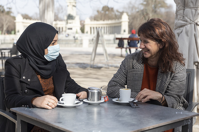 Sandra de la Fuente, abogada y voluntaria en Refugees Welcome España