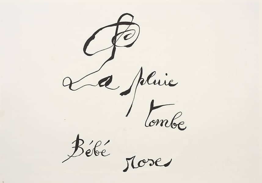 Joan Miró Le lézard aux plumes d'or [El lagarto de las plumas de oro], 1971 Poema y litografías de Joan Miró. Louis Broder, París, 1971 Poema y 32 litografías de Joan Miró Estuche: 38,70 x 53 x 9,20 cm Libro (cerrado): 36,80 x 51 x 4,80 cm Suites: 36,80 x 51 x 2,40 cm Fundació Joan Miró, Barcelona (FJM 6881) FotoGasull © Successió Miró 2021